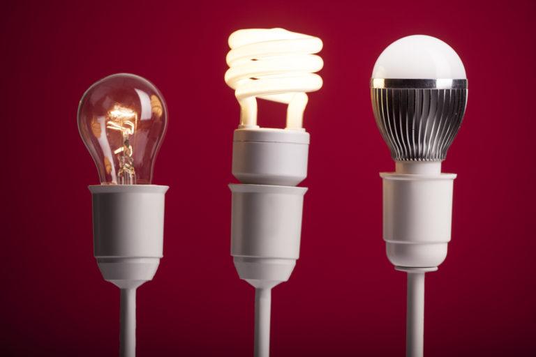 Verschillende soorten lampen 1